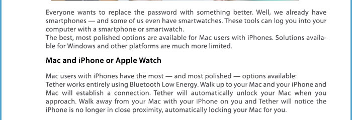 unlock your computer with phone or watch